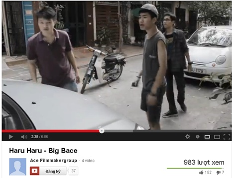 """Cấm cười với clip """"Haru Haru"""" phiên bản Việt"""