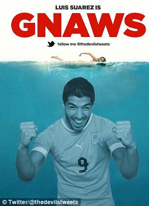 Cá Mập cũng không còn đáng sợ như Suarez