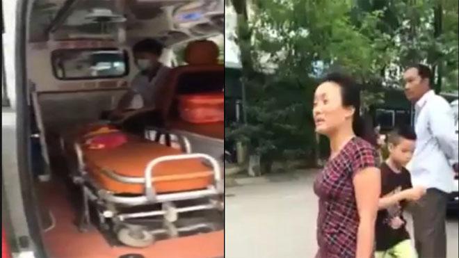 Cuối tháng 7, BV Nhi TƯ sẽ chấm dứt hợp đồng với công ty bảo vệ chặn xe cứu thương - ảnh 1