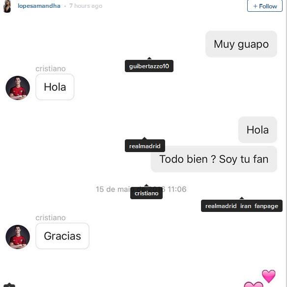 Mỹ nữ sexy 18 tuổi phát tán đoạn chat với Ronaldo - Ảnh 5.