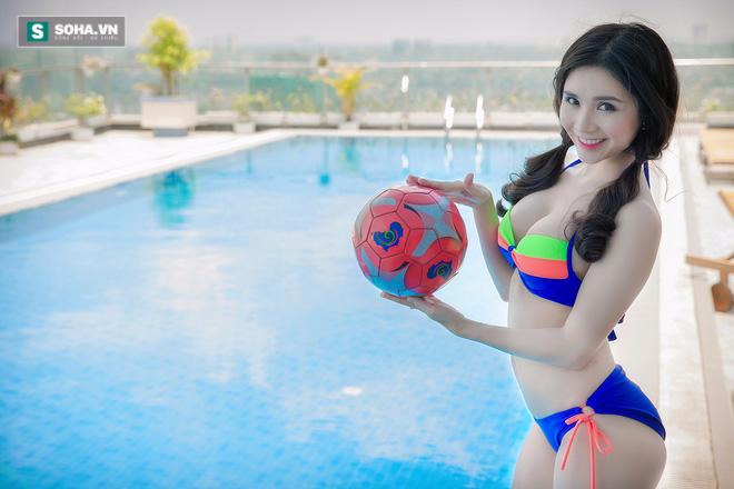 Bạn gái Quang Lê tiêm doping cho tuyển Pháp bằng ảnh nóng - Ảnh 7.