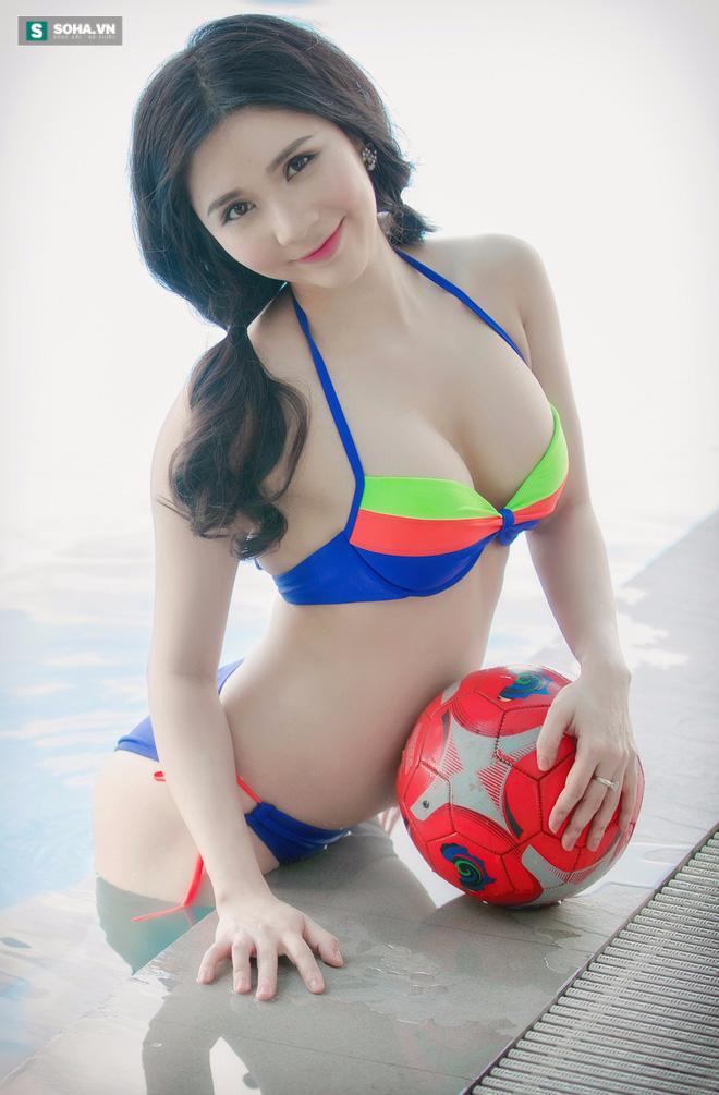 Bạn gái Quang Lê tiêm doping cho tuyển Pháp bằng ảnh nóng - Ảnh 11.