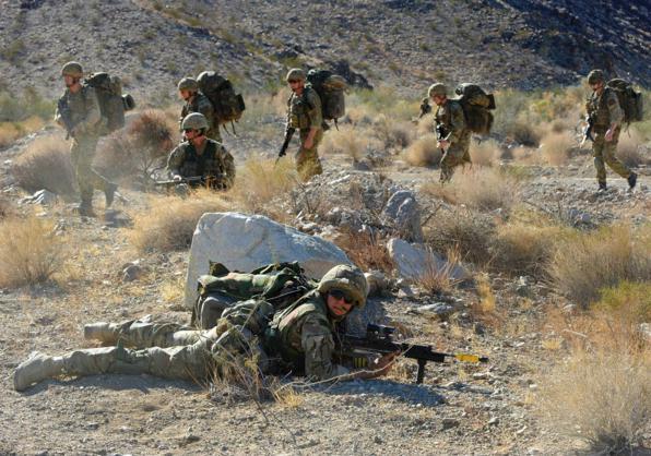 Đặc công Anh tập trận Cá Sấu Đen tại sa mạc Mỹ 4