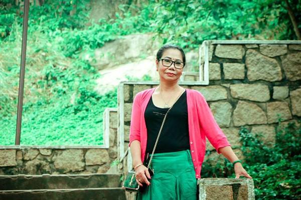 Chị Minh Nguyệt hiện là thành viên tích cực của PFLAG - Hội người thân của người LGBT Việt Nam.