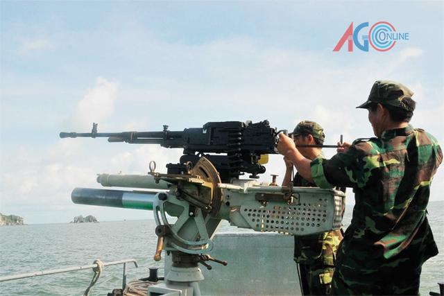Vũ khí sau khi nâng cấp trên các tàu PCF.
