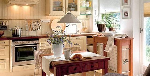 Căn bếp đem lại sức khỏe và hòa khí cho gia chủ