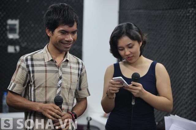 Từng tiếp xúc nhiều trong chương trình Vietnam Idol nên cả hai rất thân thiết và làm việc ăn ý.