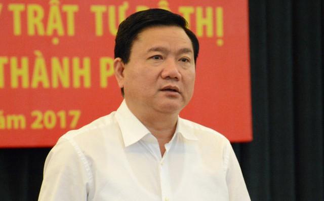 Ông Đinh La Thăng bị tạm đình chỉ sinh hoạt Đảng