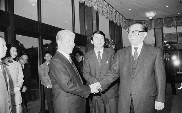 Cố Tổng bí thư Đỗ Mười và chuyến thăm lịch sử đến Trung Quốc