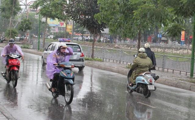 Tin gió mùa đông bắc: Hà Nội mưa rào gió rét, Sa Pa chuyển rét hại 1