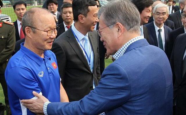 Tổng thống Hàn Quốc gửi lời chúc mừng ĐT Việt Nam sau chức vô địch AFF Cup 2018