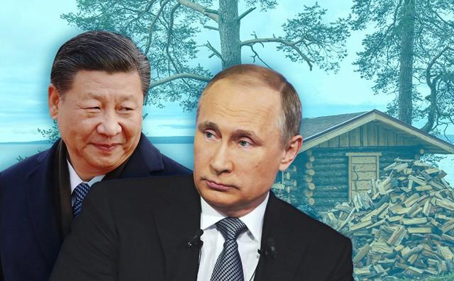 """Công du Trung Quốc, ông Putin tặng ông Tập Cận Bình """"quà độc"""": Nhà tắm hơi kiểu Nga"""
