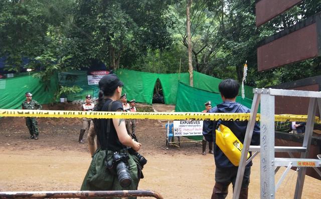 Bắt đầu phong tỏa cửa hang Tham Luang để tiến hành giải cứu 2