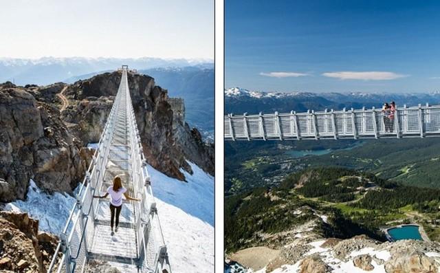 Khám phá                                                        cầu treo vượt                                                        thung lũng cao                                                        nhất Bắc Mỹ