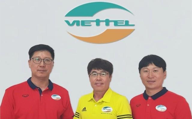 Sau hiệu ứng Park Hang-seo, Viettel mang nguyên bộ HLV Hàn Quốc về Việt Nam