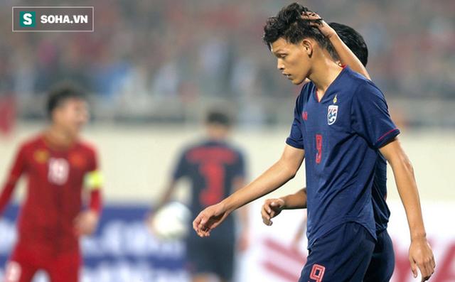Tiền đạo U23 Thái Lan chơi xấu với Đình Trọng nhận án phạt nặng từ AFC