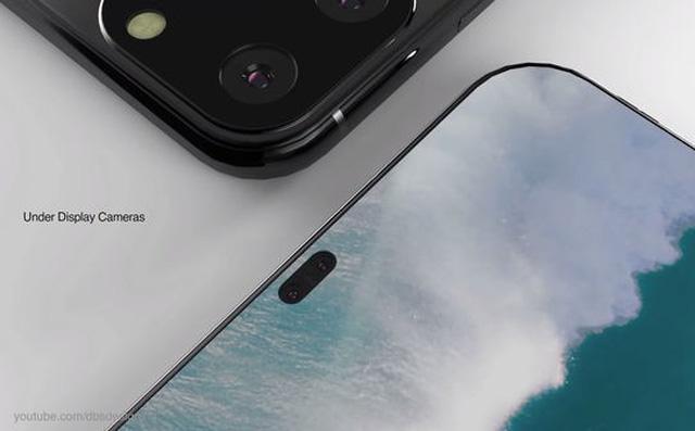 iPhone XI lộ diện đầy mê hoặc với màn hình đục lỗ, 4 camera sau