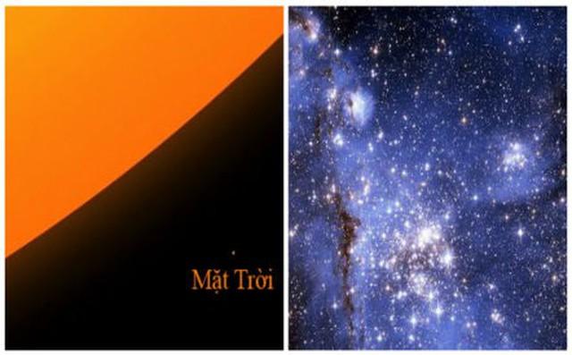 Kỳ lạ ngôi sao lớn hơn Mặt Trời gần 2.000 lần nhưng có trọng lượng cực nhẹ