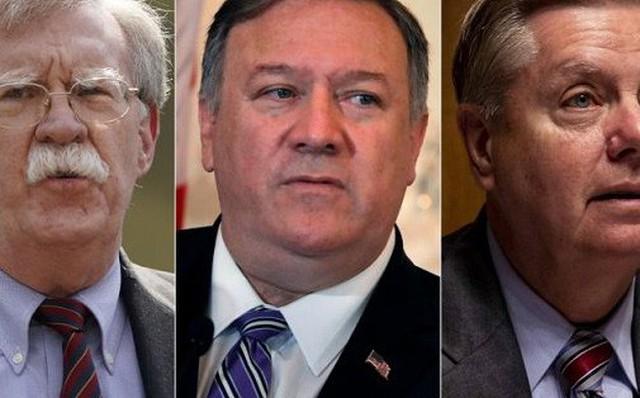 Bộ 3 'diều hâu' ép Tổng thống Trump cứng rắn hơn với Iran