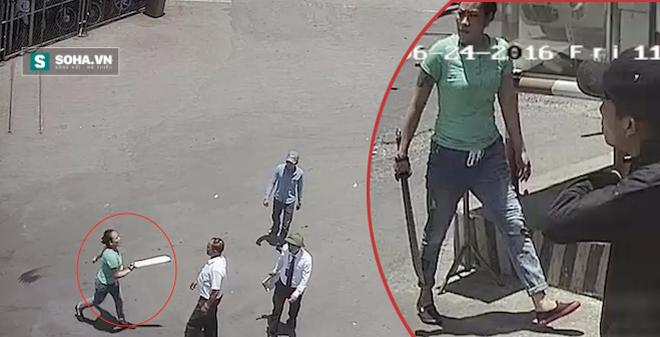 Bắt giam nữ quái, truy nã 1 kẻ cầm đao đuổi chém nhân viên bến xe
