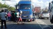 Người phụ nữ bị xe container cuốn vào gầm, tử vong tại chỗ