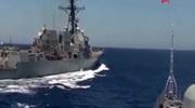 """Nga """"trả đũa"""" vụ tàu Mỹ cắt mặt trên Địa Trung Hải"""