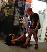 Sốc vì thông tin Andrea bị Yanbi đánh đập giữa phố