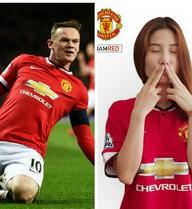 "Diễm My 9x ""tiếp lửa"" cho Man United"