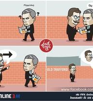 Van Gaal lại bày trò buộc Mourinho tránh xa Old Trafford