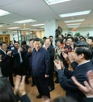 """Truyền thông TQ tung hô Tập Cận Bình """"như một vị thần"""""""