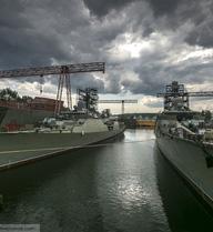 Chùm ảnh mới nhất về cặp tàu Gepard thứ 2 của Việt Nam