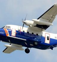 Điều tàu hiện đại nhất của biên phòng tìm kiếm máy bay Casa-212 xuyên đêm