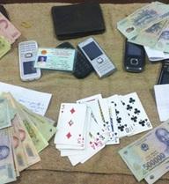 Phá ổ nhóm cờ bạc chuyên nghiệp, khởi tố 15 đối tượng