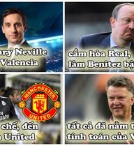 Tiết lộ: Real sa thải Benitez là âm mưu của Man United