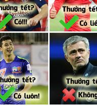 Thưởng Tết của Mourinho thua cả Công Phượng