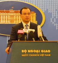 Yêu cầu Trung Quốc chấm dứt ngay các hoạt động sai trái ở Hoàng Sa và Trường Sa