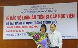 """Luận án TS """"nịnh trong tiếng Việt"""": Chuyên gia khen hết lời"""