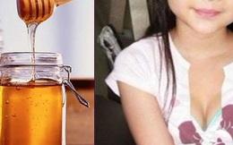 """Cho con uống mật ong thường xuyên, mẹ """"ngã ngửa"""" trước hậu quả """"kinh khủng"""" này"""