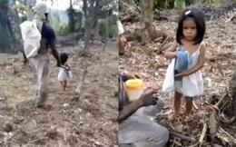 Mới 5 tuổi, nghèo nàn, rách rưới nhưng cô bé này đã khiến cả thế giới phải chú ý