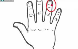 Ấn vị trí này trên ngón tay: Giải độc gan, giải rượu, chống say cực tốt mà không cần thuốc