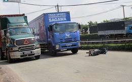 2 người bị kéo lê hàng chục mét giữa xa lộ Hà Nội