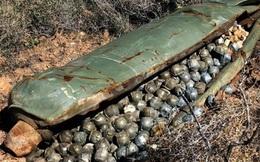 Đài Nga để lộ hình ảnh sử dụng bom chùm tại Syria