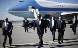 Căn cứ đỗ chuyên cơ của Tổng thống Obama bất ngờ phải sơ tán
