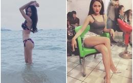 Những bức ảnh siêu gợi cảm của ca sĩ chuyển giới đẹp nhất Việt Nam