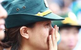 Nước mắt người lính tiễn biệt 9 liệt sĩ hy sinh trên Casa-212