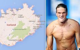 """Ý định """"kinh dị"""" của VĐV bơi lội nếu Iceland vô địch Euro"""