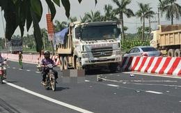 Sơn dải phân cách Quốc lộ 1A, công nhân bị xe tải tông tử vong