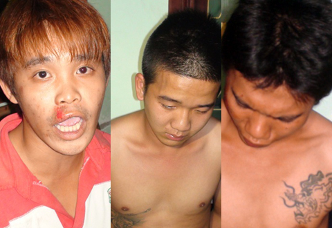 'Giang hồ' nhí cướp máy quay phim, hăm dọa cảnh sát 113