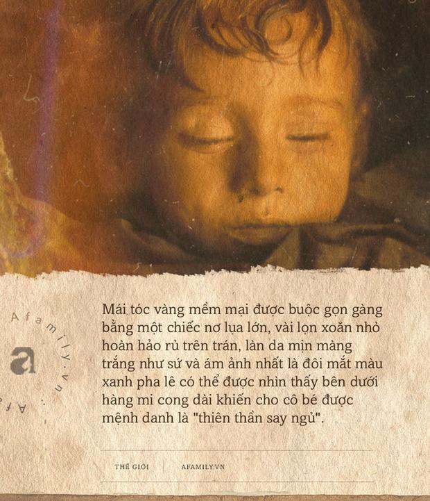 Bí ẩn về thiên thần say ngủ: Xác ướp bé gái gần trăm năm vẫn còn chớp mắt khiến ai cũng lạnh người - Ảnh 1.