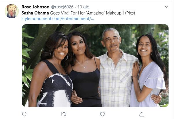 Con gái út của ông Obama lại khiến cộng đồng mạng chao đảo vì quá xinh đẹp và gợi cảm, chiếm hết spotlight của gia đình - Ảnh 5.
